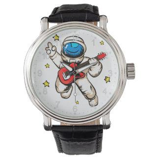 Astronautensieggeste Uhr
