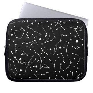 Astronomen-Traumkonstellations-Muster Laptopschutzhülle