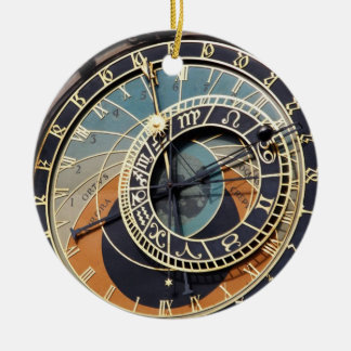 Astronomische Uhr in Praque Keramik Ornament