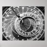 Astronomische Uhr Prags Poster