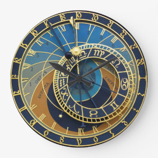 Astronomisches Uhr-Prag Orlog Große Wanduhr