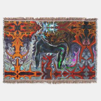 Atem der Feuer-Yoga-Wurfs-Decke #1 Decke