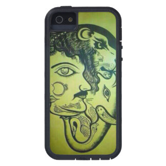 Atemberaubender Löwe der Abdeckung zellulären iPhone 5 Case