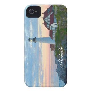 Atemberaubender Portland-Leuchtturm iPhone 4 Case-Mate Hülle