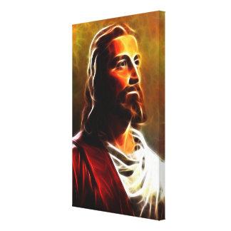 Atemberaubendes Jesus Christus-Porträt Leinwanddruck
