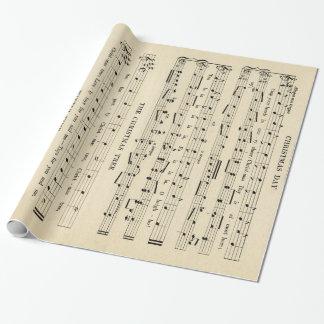 Atemberaubendes ungewöhnliches Vintages Geschenkpapier