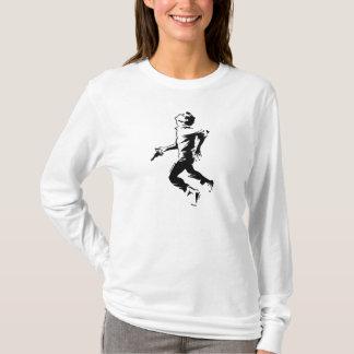 Atemloser laufender Mann-T - Shirt
