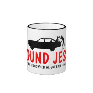 Athée drôle j'ai trouvé Jésus Mug Ringer