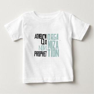 Atheismus ist eine nicht Prophetorganisation Baby T-shirt