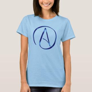 Atheismus-Symbol-T-Shirt T-Shirt