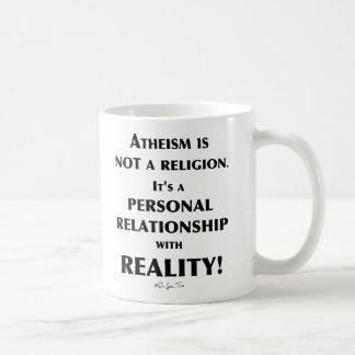 Atheismus und Wirklichkeit Tasse