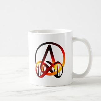 Atheist für immer kaffeetasse