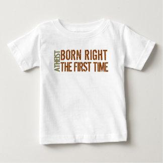 Atheist: Geborenes Recht das erste mal Baby T-shirt