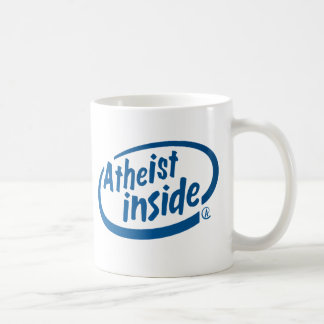 Atheist nach innen kaffeetasse