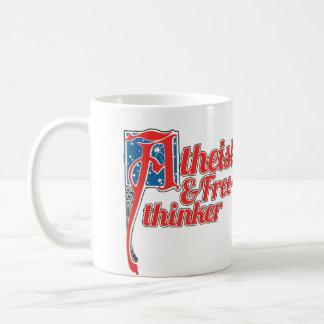Atheist und Freethinker Kaffeetasse