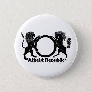 Atheistische Republik Runder Button 5,1 Cm