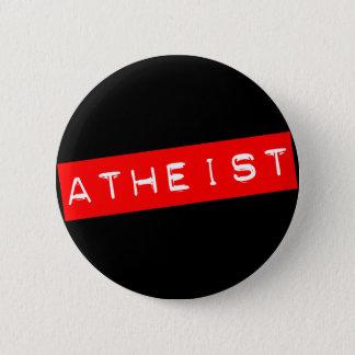 Atheistischer Dymo Aufkleber Runder Button 5,1 Cm