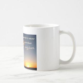 Atheistischer Sonnenuntergang Kaffeetasse