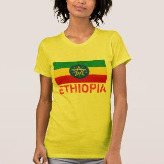 ÄTHIOPIEN- - Äthiopien-Flaggen-T - Shirt
