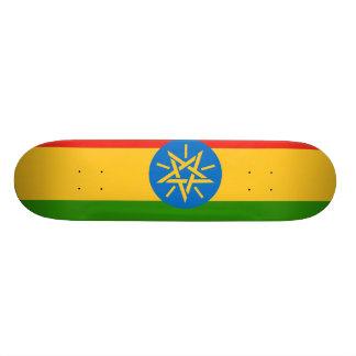 Äthiopien-Flagge 18,1 Cm Old School Skateboard Deck