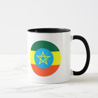 Äthiopien-Flagge Tasse