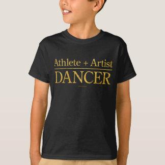 Athlet + Künstler = Tänzer T-Shirt