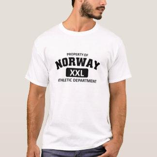 Athletische Abteilung Norwegens T-Shirt