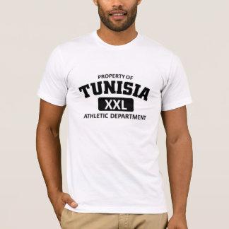 Athletische Abteilung Tunesiens T-Shirt
