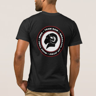 Athletischer Sitz-amerikanischer Kleid-RAM T - T-Shirt