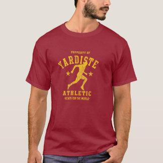 athletisches dist Abteilung yardiste Gelbs 2012 T-Shirt