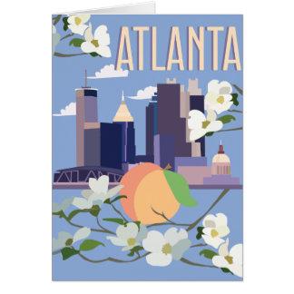 Atlanta-Gruß-Karte Karte
