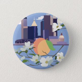 Atlanta-Knopf Runder Button 5,7 Cm
