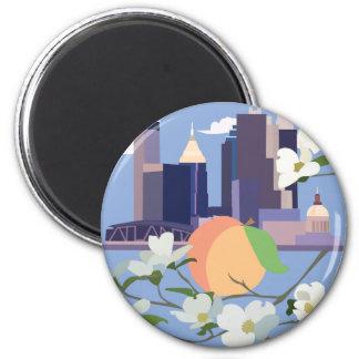 Atlanta-Magnet Runder Magnet 5,7 Cm
