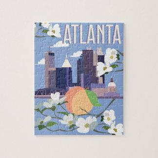 Atlanta-Puzzlespiel