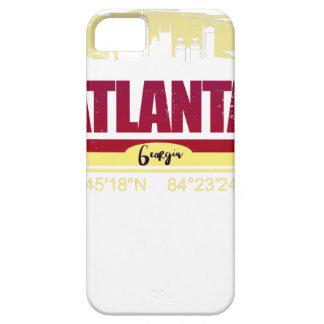 Atlanta-Schmutz Georgia-Skyline iPhone 5 Schutzhülle