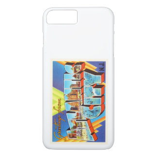 Atlantic City 2 New-Jersey NJ Vintage Reise - iPhone 7 Plus Hülle