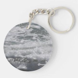 Atlantikdoppelte mit Seiten versehene Schlüsselanhänger