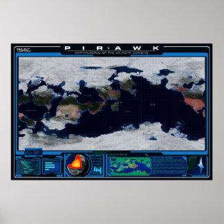 Atlas de planète de Pirawk