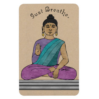 Atmen Sie einfach (flexibler Magnet) Magnet