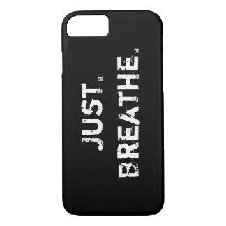 Atmen Sie einfach iPhone 7 Hülle