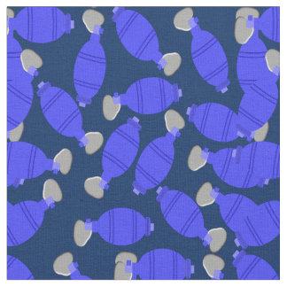 Atmungstherapieambu-Taschen-Gewebe-Marine Stoff