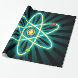 Atom Geschenkpapier