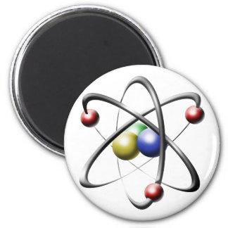 Atom Runder Magnet 5,7 Cm