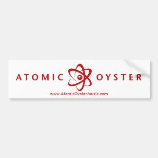 AtomAutoaufkleber der auster (Alt-Logo) (rot) Autoaufkleber