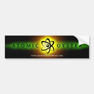 "AtomAutoaufkleber ""des glühenden Logos"" der auster Autoaufkleber"