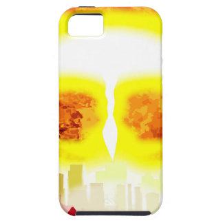 Atombomben-Hitze-Hintergrund iPhone 5 Case