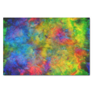 [Atomgefärbte Krawatte] psychedelische Seidenpapier
