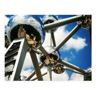 Atomium Postkarte