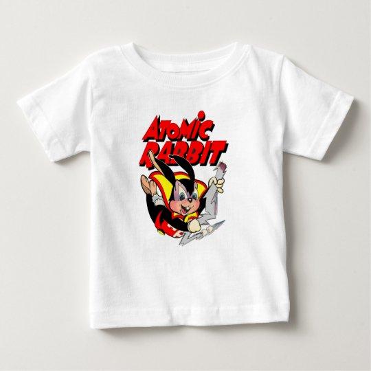 Atomkaninchenlustiger PelztierSuperheld Baby T-shirt