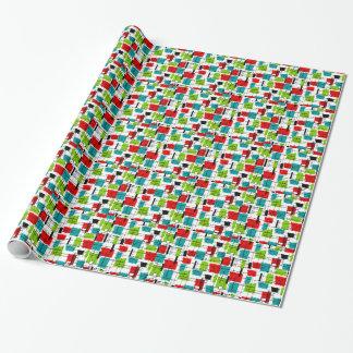Atommitte- des jahrhundertsgeschenk-Verpackung Geschenkpapier